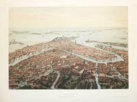 Venise. Vue prise au dessus de S.a Maria dei Frari