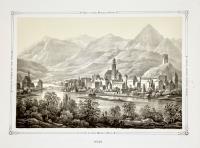 Ansicht der Stadt Meran in Tirol