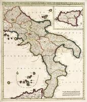 Regnum Neapolis Siciliae et Lipariae Insulae multis locis correctae novissima descriptio