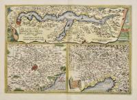 Larii lacus vulgo comensis descriptio, Auct. Paulo Iovio. Territorii romani descrip. Fori Iulii, vulgo Friuli typus.