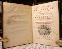 Dell'impiego del danaro libri tre. Alla Santità di nostro Signore Papa Benedetto decimoquarto.