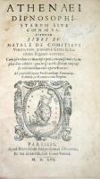 Dipnosophistarum sive coenae sapientium libri XV.