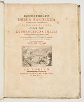 Rifiorimento della Sardegna proposto nel miglioramento di sua agricoltura libri tre.