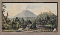 View of the Monte S. Angelo on wich there is a Convent of Camaldolesi monks (tav. XI)