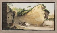 Entrance of the Grotta of Pausilipo (tav. XVI).