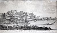 Vue du Golphe de Naples prise du coté de l'Eglise de la Victoire.