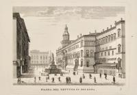 Piazza del Nettuno in Bologna.