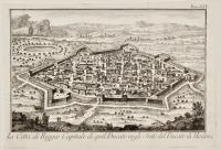 La città di Reggio Capitale di quel Ducato negli Stati del Ducato di Modena.