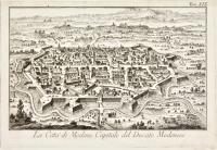 La città di Modena Capitale del Ducato Modenese
