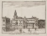 Prospetto del  Palazzo del Governatore di Bologna