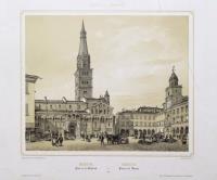 Modène, place de la Cathédrale-Modena, Piazza del Duomo.