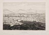 Bologne, vue prise au-dessus de l'Accadémie des Beaux-Arts