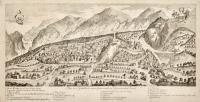 Plan von Gemona einer Gränzstadt im Venetianischen Friaul
