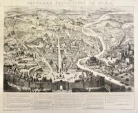 Panorama della città di Roma.