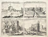 1. Castell St. Angeli 2.Pons Aelius 3. Ruinae Pon. Triumphalis...(Roman antiquities)