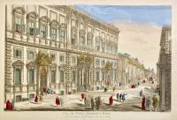 Vue du Palais Quirinal à Rome