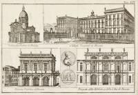 Veduta del Duomo di Brescia – Collegio Vescovile in Brescia – Palazzo Pubblico di Brescia – Prospetto della Biblioteca della Città di Brescia