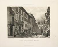 Corso Francesco à Milan et Hotel de la Ville.