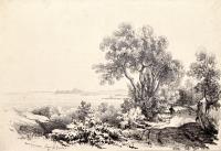 10 settembre 1831. Near Gargnano, Lago di Garda