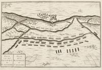 Plan de la bataille de Cassano - (titolo ripetuto in olandese).
