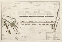 Plan de la bataille de Chiari-(titolo ripetuto in olandese)