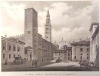 Piazza degli ortolani in Cremona.