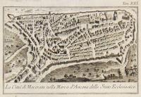 La Città di Macerata nella Marca d' Ancona dello Stato Ecclesiastico.