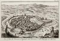 La città Novara Capitale del Novarese nel Ducato di Milano