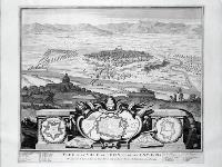 Vue de la Ville de Tourin et de ses Environs.