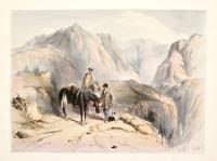 Ascending the Gr. St. Bernard, 1838