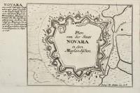 Plan von der Statt Novara in dem Meylaendischen