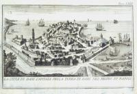 La Città di Bari capitale della terra di Bari nel Regno di Napoli.