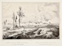 Veduta della città di Foggia presa dalla strada di Barletta
