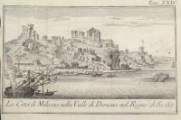 La Città di Milazzo nella Valle di Demona nel Regno di Sicilia.