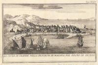 La Città di Trapani nella provincia di Mazara, nel Regno di Sicilia.