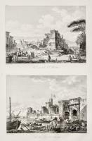 Vue generale de la ville d'Alicata (insieme a :) Vue du port d'Alicata