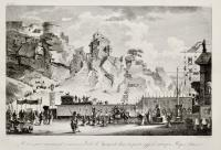 Rochers qui entouraient l'ancienne Ville d'Agrigente dans la partie appelèè autrefois Rupes Athenea