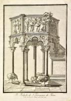 Il pulpito di S. Giovanni di Pisa.