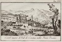 Castel nuovo di Val di Cecina nello Stato Pisano