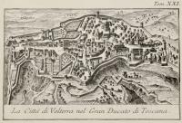 La città di Volterra nel Gran Ducato di Toscana