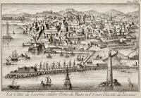La Città di Livorno celebre Porto di Mare nel Gran Ducato di Toscana.