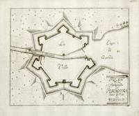 Plan de la forteresse de Peschiera dans le pais de Verone.