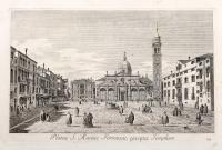 Platea S. Mariae Formosae, eiusque Templum.