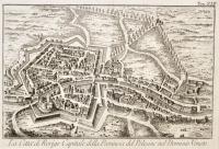 La città di Rovigo Capitale della Provincia del Polesine nel Dominio Veneto.