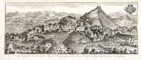 La città di Asolo nella Marca trivigiana dello Stato Veneto, veduta dalla parte meridionale.