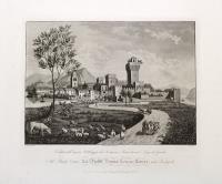 Veduta dell'ameno Villaggio di Sermione, penisola nel Lago di Garda