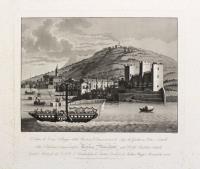 Veduta di Torri. Villaggio della Provincia veronese, in riva al Lago di Garda con Porto e Castello.