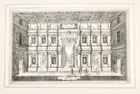 Scalinata e compimento del Teatro Olimpico
