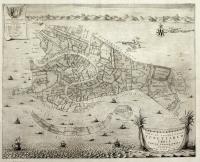 Nova et accuratissima Venetiarum urbis tabula topographica.
