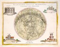Planisferio celeste settentrionale tagliato sull'equatore (insieme a:) Planisferio celeste meridionale tagliato sull'equatore